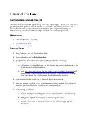 1.2 Letter of the Law.docx