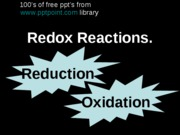 Redox ReactionsOpt