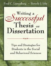 Writing a Successful Thesis or Dissertation [Dr.Soc].pdf