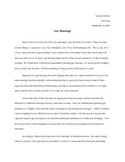 Gay Marriage Analysis Paper.docx