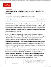 Air France-KLM is being brought to its knees by its unions - Struck down.pdf