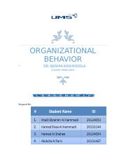 ORGANIZATIONAL BEHAVIOR.docx