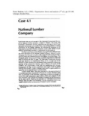 MSCI311 National_Lumber_Company_Case