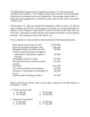 Audit of Cash and Cash Equivalents 6