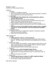 Management Chapter 7 Outline