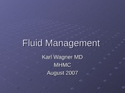 fluidManagement