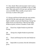 ACTG 3000 Chapter 1 Practice Questions