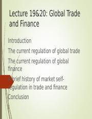 lecture trade  finance