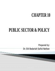 Chapter 8 (ECO415) Public sector & Policy.pptx