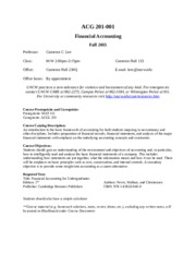 finance 3504 syllabus fall 2014 I am currently a finance major  fall 2014/spring 2016 it was thanks to your teaching that i was able to tie a lot of material together from 3101 and 3504.