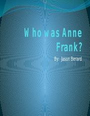 Who was Anne Frank.pptx