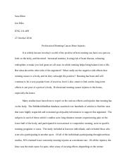 Cause and Effect Essay-Comp. 1