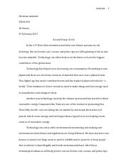 TECH 393 Essay Two.docx