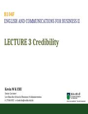 B104F Lecture 03 Credibility.ppt