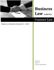 Assignment-Contract Law.docx