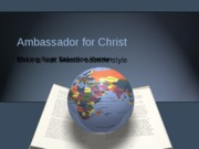 ambassador for Christ 3