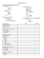 A&P 2 Lab exam 3 all structure sheets.doc