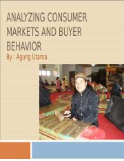 Analyzing consumer markets and buyer behavior.ppt