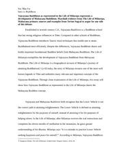 Nirvana buddhism essay paper