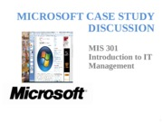Class 08 - Microsoft Case Discussion