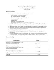 Resume and Cover Letter Assignment Fall 2018.docx