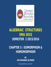 20160323100333CHAPTER 3 - ISOMORPHISM and HOMOMORPHISM.ppt
