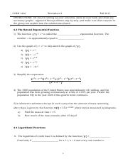 COEN1236 Worksheet 9 Fall 2017 with Old Exam.pdf