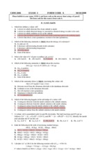 chm 2046 exam 3 key