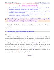 LECTURE_9.1_Method of Integration