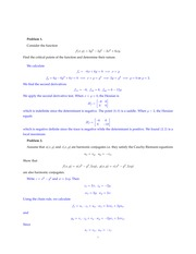 MATH 31BH Winter 2014 Practice Midterm 2 Solutions