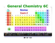 SB_Chem6C_S11_Exam 2 Review