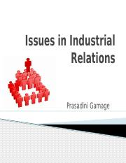 Issues in Industrial Relations.pptx