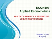 Topic 4_Multicollinearity & Restrictions_fish