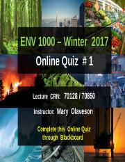 ENVS1000-W2017-Online Quiz-1-Instructions.pptx