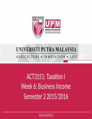 Week 7_Business Income Sole