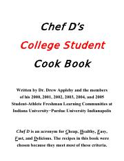 SALC Cookbook