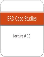 DB-Lec 10 ERD Case Studies.pptx