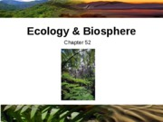 Ch 52  EcologyPart1