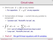 Circuit Rules
