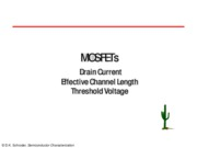 06. MOSFETs