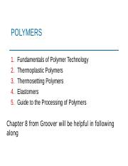 4 introduction to polymers
