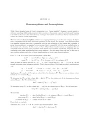 Lecture 13 Homomorphisms and Isomorphisms