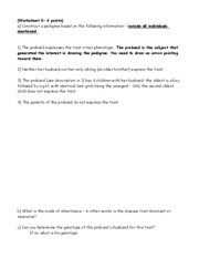 Worksheet 8 2011