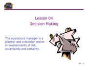 04 Decision Making