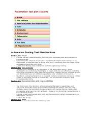 Test Plan doc Automation Testing Test Plan.docx