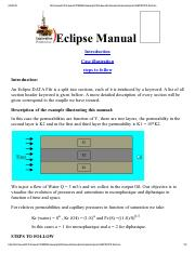 eclipse fill refernce manual fill reference manual 2008 1 rh coursehero com schlumberger eclipse user manual schlumberger eclipse reference manual
