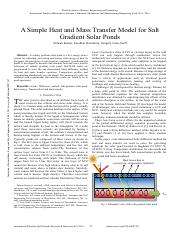 A-Simple-Heat-and-Mass-Transfer-Model-for-Salt-Gradient-Solar-Ponds