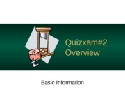 CSC 138 Fall 2014 -Quizxam2_Study Guide
