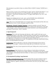 3 Pages SNHU PSY Research Help Sheet 7