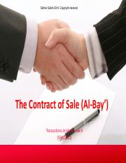 1_The Contract of Sale (Al-Bay).pdf